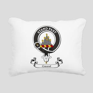 Badge - Grant Rectangular Canvas Pillow