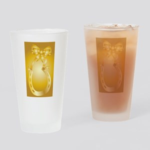 Golden Wedding Aniversary Drinking Glass
