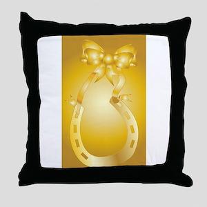 Golden Wedding Aniversary Throw Pillow