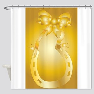 Golden Wedding Aniversary Shower Curtain