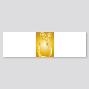 Golden Wedding Aniversary Bumper Sticker