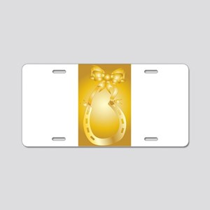 Golden Wedding Aniversary Aluminum License Plate