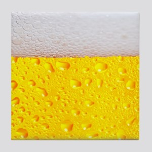 Realistic Beer Tile Coaster