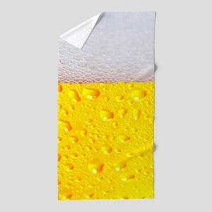 Realistic Beer Beach Towel