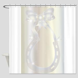 Diamond Wedding Anniversary Shower Curtain