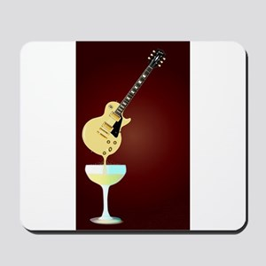 Guitar Wine Mousepad