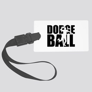 Dodgeball Large Luggage Tag