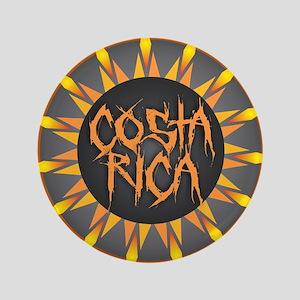 Costa Rica Hot Sun Button