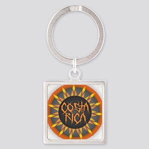 Costa Rica Hot Sun Keychains