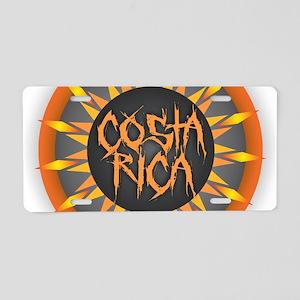 Costa Rica Hot Sun Aluminum License Plate