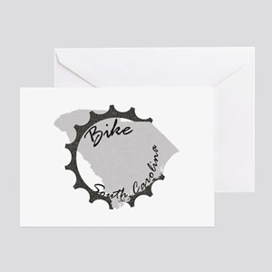 Bike South Carolina Greeting Card