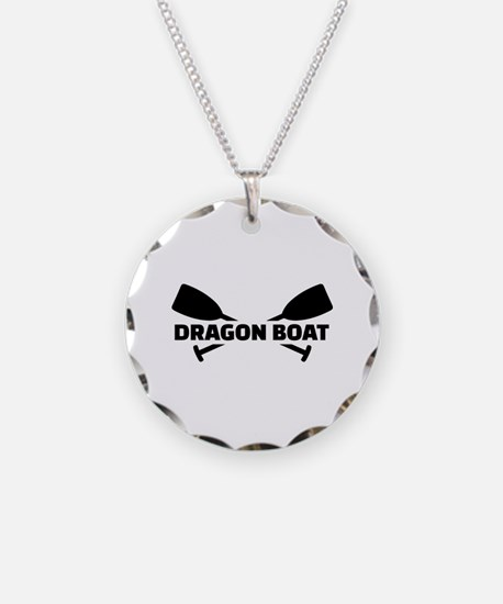 Dragon boat paddles Necklace