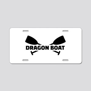Dragon boat paddles Aluminum License Plate