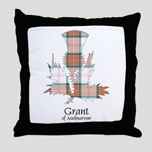 Thistle-GrantAuchnarrow Throw Pillow