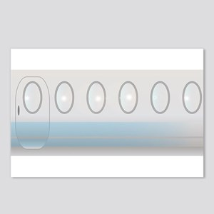 Aircraft Background Postcards (Package of 8)