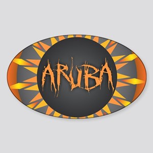 Aruba Hot Sun Sticker