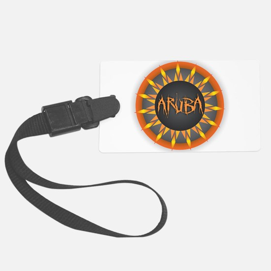 Aruba Hot Sun Large Luggage Tag
