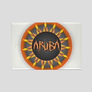 Aruba Hot Sun Magnets