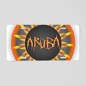Aruba Hot Sun Aluminum License Plate