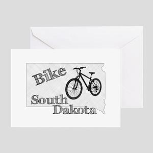 Bike South Dakota Greeting Card