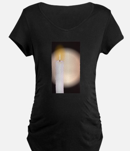 Candle Power Maternity T-Shirt