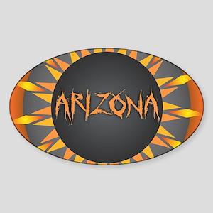 Arizona Hot Sun Sticker