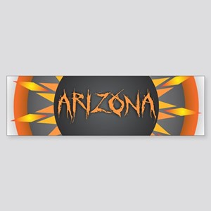 Arizona Hot Sun Bumper Sticker