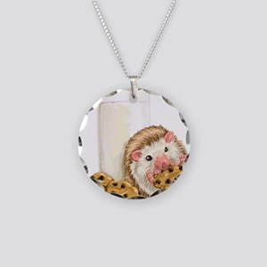 Cookie Hog Necklace Circle Charm