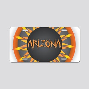 Arizona Hot Sun Aluminum License Plate
