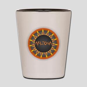 Arizona Hot Sun Shot Glass