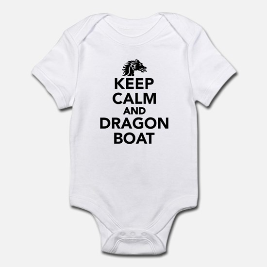 Keep calm and Dragon boat Infant Bodysuit