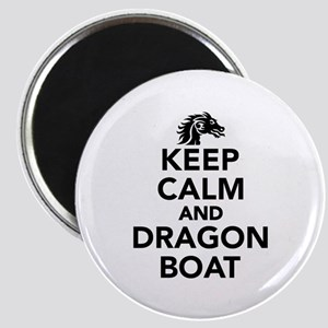 Keep calm and Dragon boat Magnet