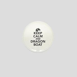 Keep calm and Dragon boat Mini Button
