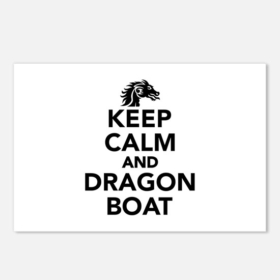 Keep calm and Dragon boat Postcards (Package of 8)