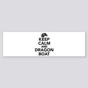 Keep calm and Dragon boat Sticker (Bumper)