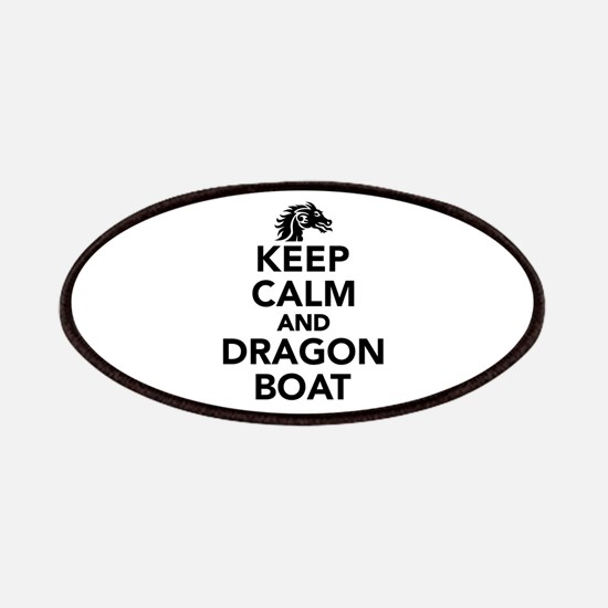 Keep calm and Dragon boat Patch