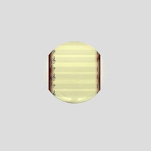 Old Manuscript Mini Button