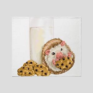 Cookie Hog Throw Blanket
