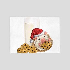 Christmas Cookie Hog 5'x7'Area Rug