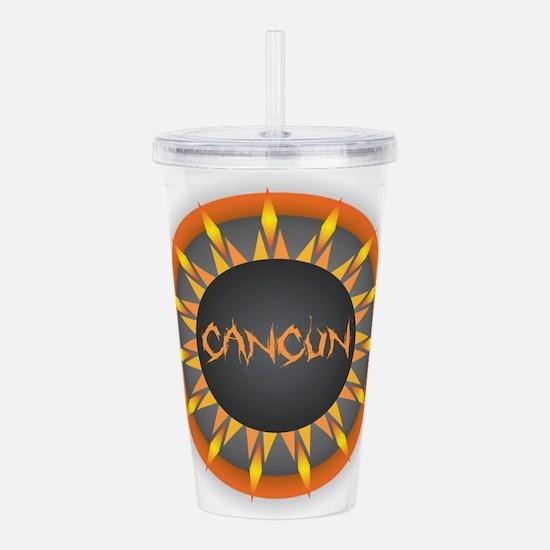 Cancun Hot Sun Acrylic Double-wall Tumbler