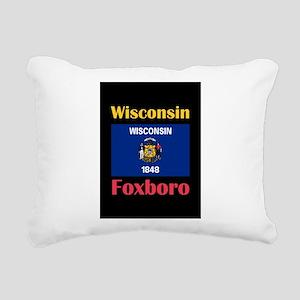 Foxboro Wisconsin Rectangular Canvas Pillow