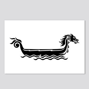 Dragon boat Postcards (Package of 8)