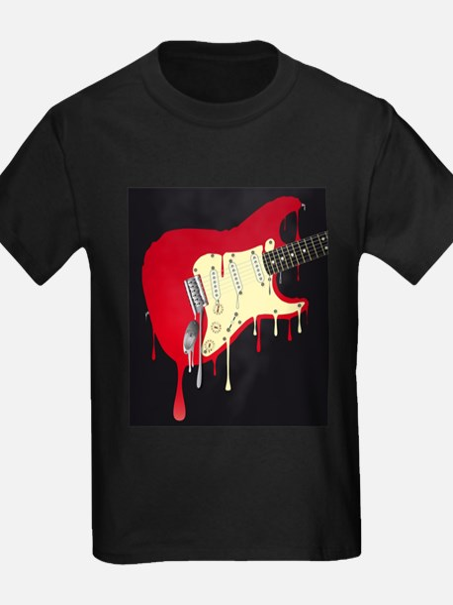 Melting Electric Guitar T-Shirt