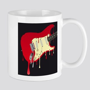 Melting Electric Guitar Mugs