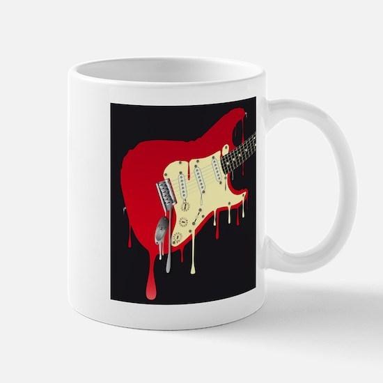 Melting Electric Guitar Mugs