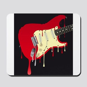 Melting Electric Guitar Mousepad