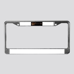 Six String Bass License Plate Frame