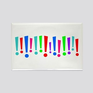 Exclamation Rectangle Magnet