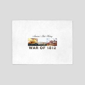 War of 1812 5'x7'Area Rug