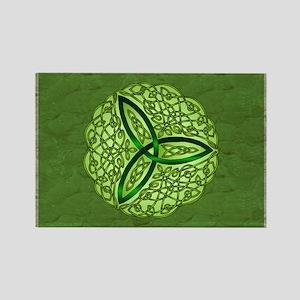 Sage Celtic Trinity Knot Magnets